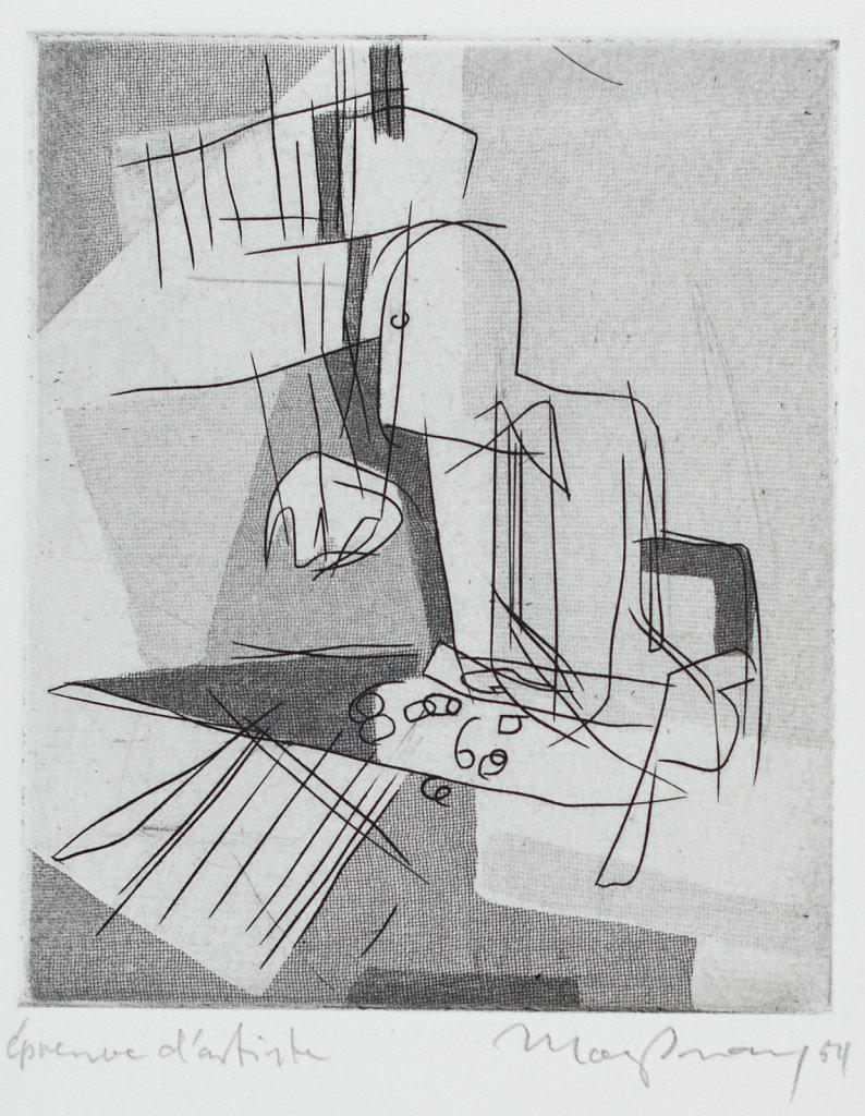 Druckgrafik 1950 - 1959