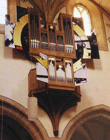 'Hochwandorgel', Stadtkirche Biel Bienne