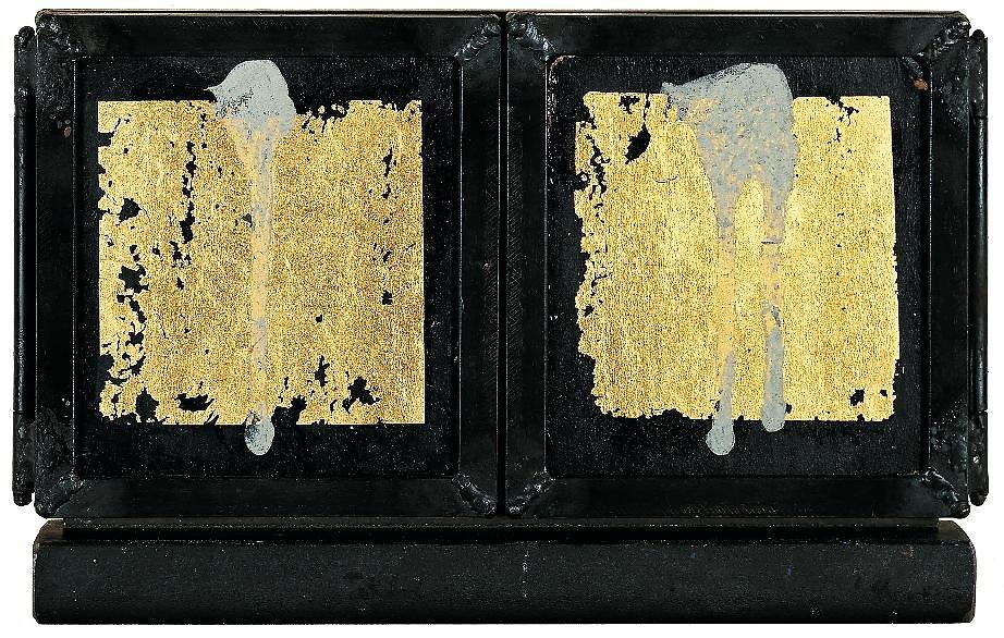 Triptychon, Aussenseite